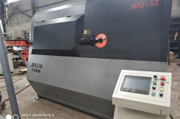 4-12mm vökva sjálfvirk CNC 2D vír beygja vél birgir